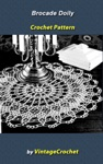 Brocade Doily Vintage Crochet Pattern EBook