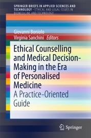 Ethical Counselling And Medical Decision Making In The Era Of Personalised Medicine