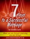 7 Keys To A Successful Marriage