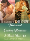 Historical Cowboy Romance Two Book Box Set Mail Order Brides