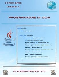 Programmare In Java Lezione 4