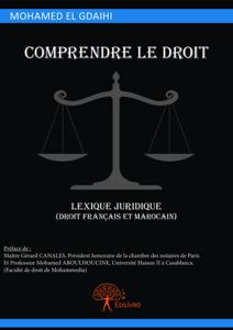 Comprendre le droit, lexique juridique (droit français et marocain) La couverture du livre martien