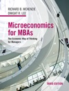 Microeconomics For MBAs Third Edition