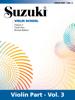 Suzuki Violin School - Volume 3 (Revised) - Dr. Shinichi Suzuki