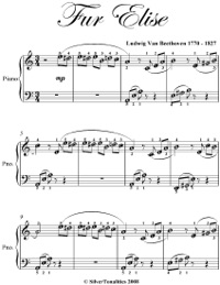 fur elise piano sheet music pdf easy