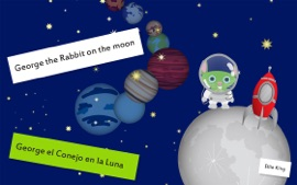 Baby Book George The Rabbit On The Moon