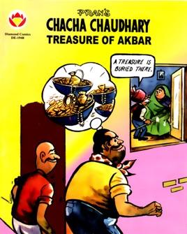 Chacha Chaudhary Treasure of Akbar