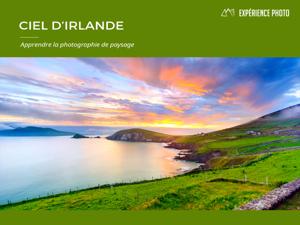 Expérience Photo : Ciel d'Irlande La couverture du livre martien