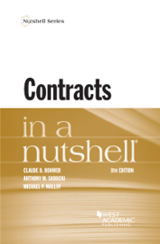 Contracts in a Nutshell book