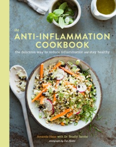 The Anti-Inflammation Cookbook by Amanda Haas Book Cover