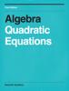 Wayne Saunders - Algebra Quadratic Equations artwork