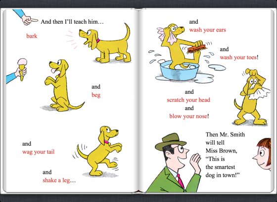 U200ei U0026 39 Ll Teach My Dog 100 Words  Read  U0026 Listen Edition En