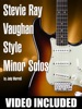 Stevie Ray Vaughan Style Minor Solos