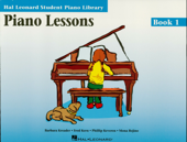 Piano Lessons - Book 1 (Music Instruction) Book Cover