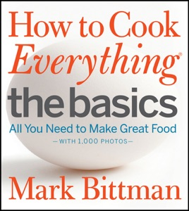 How to Cook Everything The Basics by Mark Bittman Book Cover