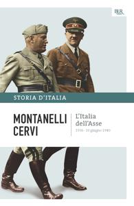 L'Italia dell'Asse - 1936-10 giugno 1940 Libro Cover