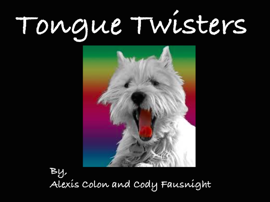 Tongue Twisters book