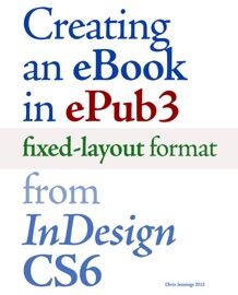 Creating An Ebook In Epub3 Fixed Layout Format From Indesign Cs6