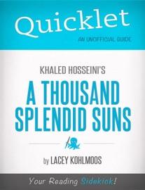 Quicklet On Khaled Hosseini S A Thousand Splendid Suns