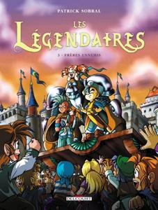 Les Légendaires T03 La couverture du livre martien