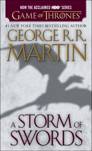 A Storm of Swords - George R.R. Martin book cover