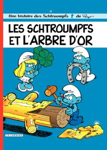 Les Schtroumpfs - tome 29 - Les Schtroumpfs et l'arbre d'or La couverture du livre martien