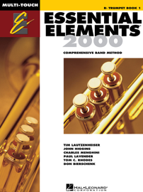 Essential Elements 2000 - Book 1 for Bb Trumpet (Textbook)