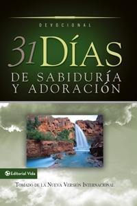 31 días de sabiduría y adoración da Zondervan