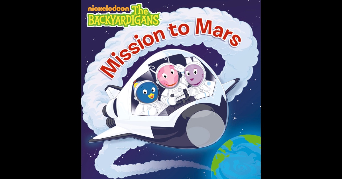 the backyardigans mission to mars book - photo #13