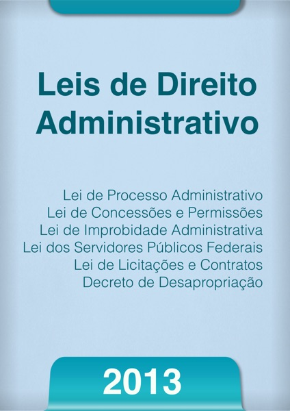 Leis de Direito Administrativo 2013