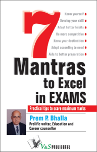 7 Mantras to Excel in Exams La couverture du livre martien