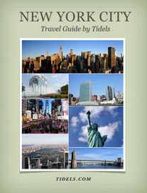 New York City Travel Guide By Tidels book