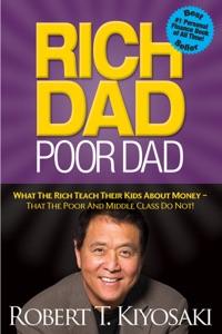 Rich Dad Poor Dad by Robert T. Kiyosaki Book Cover