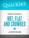 Quicklet On Thomas Friedmans Hot Flat And Crowded