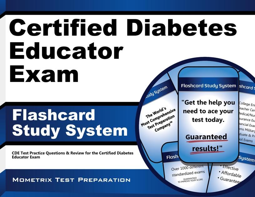 Certified Diabetes Educator Exam Flashcard Study System By Cde Exam
