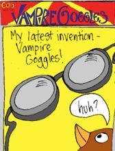 Cog And The Vampire Goggles