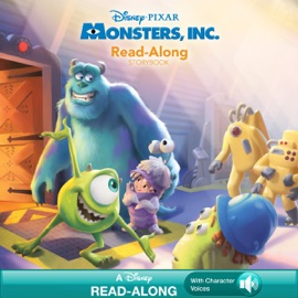 Monsters Inc Read Along Storybook