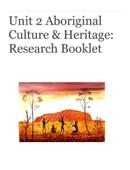 Aboriginal Culture & Heritage