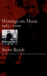 Writings On Music 1965-2000