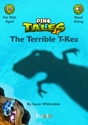 Dino Tales Jr- Early Reading Series Book 1: The Terrible T-Rex