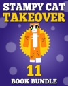 Stampy Cat Takeover 11 Book Bundle