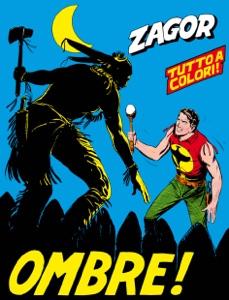 Zagor. Ombre! Book Cover