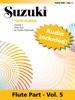 Suzuki Flute School - Volume 5 (Revised)