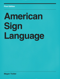 American Sign Language book