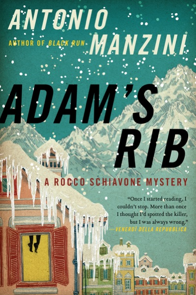 Adam's Rib - Antonio Manzini book cover
