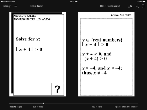 CLEP Precalculus Test Prep Review--Exambusters Flash Cards by CLEP  Exambusters on Apple Books