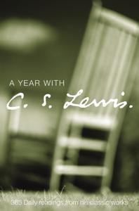 A Year with C. S. Lewis La couverture du livre martien