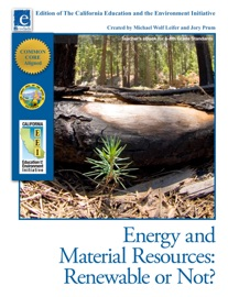 Energy And Material Resources