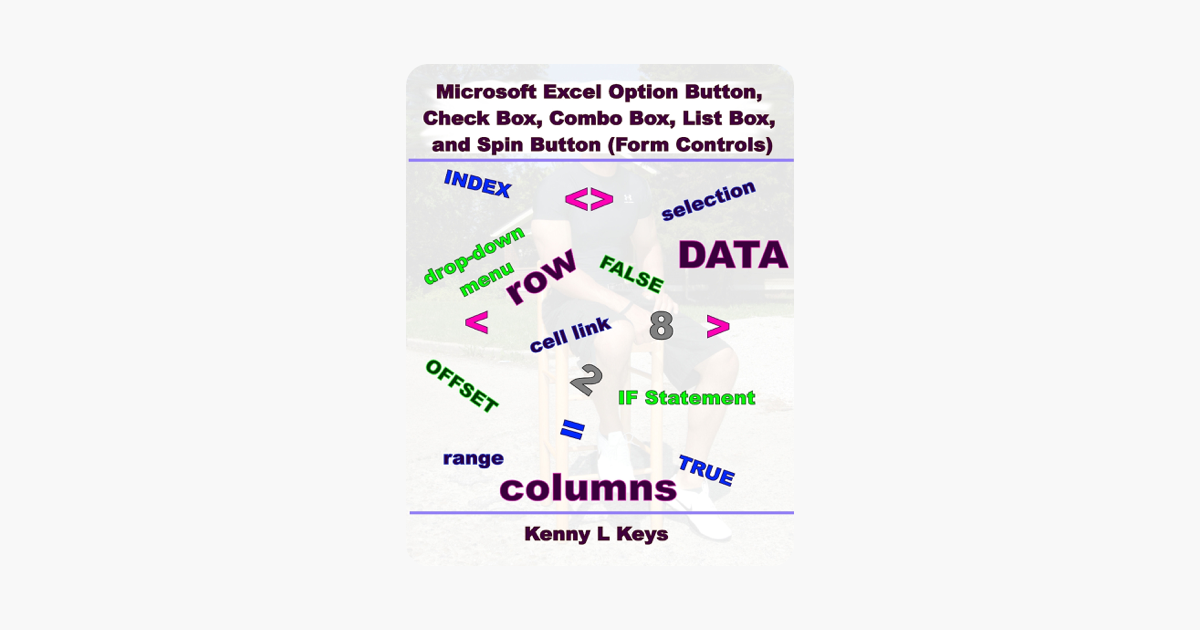 Microsoft Excel Option Button, Check Box, Combo Box, List Box, and Spin  Button (Form Controls)
