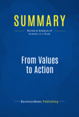 Summary: From Values to Action